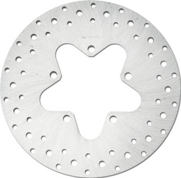 Harddrive Rear Rotor 11.5 Ss Drilled Touring 86-99 (11-073)