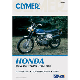 Clymer M322 Service Shop Repair Manual Honda 250-350cc Twins 64-74