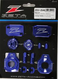 Zeta Zeta Billet Kit Husqvarna Blue - ZE51-2546