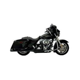 Supertrapp Supermegs Exhaust SYS: HD FLH / FLT 2009 Black