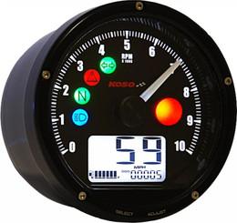 Koso T & T Multi Function Meter (Black) - BA035K00