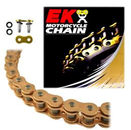 EK 525SROZ2 Gold O-Ring Motorcycle Chain (Rivet Master)