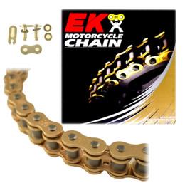 EK 520SRX2 Gold Off Road QX-Ring Motorcycle Chain (Clip Master)
