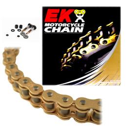 EK 520SRX2 Gold Sport Race QX-Ring Motorcycle Chain (Screw Master)