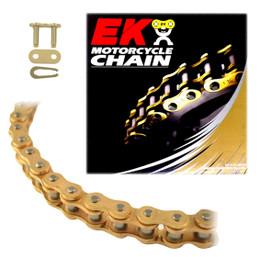 EK 420SH Heavy Duty Gold MX Race Motorcycle Chain (Clip Master)