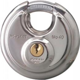 "MASTER LOCK STAINLESS STEEL ROUND PADLOCK 2.75"" (40DPF)"