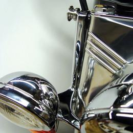 National Cycle Switchblade Windshield Mount Kit (Chrome) - KIT-Q342
