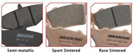 BRAKING HIGH-PERFORMANCE BRAKE PAD SEMI-METALLIC (764SM1)
