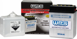 Wps Battery W/Acid 12N7-4B - 12N7-4B