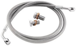 GOODRIDGE ECONOLINE BRAKE LINE KIT TOURING TRI-FRONT (HD8252-A)