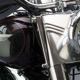 National Cycle Switchblade Windshield Mount Kit (Chrome) - KIT-Q341