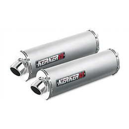 "Kerker Sport Performance Series Exhaust for Silencer ELLIP 2""CORE RHT RB TI"