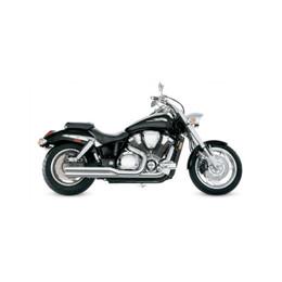 Supertrapp Metric MMII Exhaust System for Honda VTX 1800C 02-07 Chrome