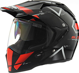 Suomy MX Tourer Road Orange Helmet