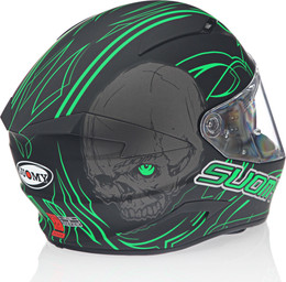 Suomy Speedstar Amlet Green Helmet