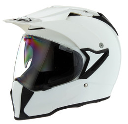 Suomy MX Tourer Solid White Helmet