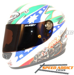 Suomy SR Sport / Vandal Light Smoke Race Shield