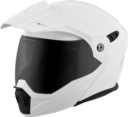 Scorpion Exo-At950 Modular Solid Helmet White