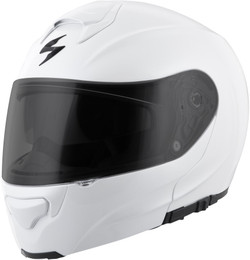 Scorpion Exo-Gt3000 Modular Solid Helmet White Pearl
