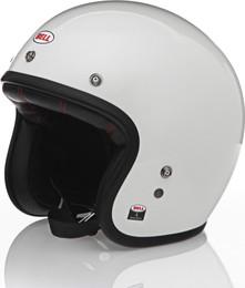 Bell Custom 500 Gloss Vintage White Helmet