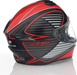 Suomy Stellar Cruiser Red Fluo Helmet