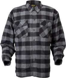 Scorpion Covert Flannel Black Grey Shirt