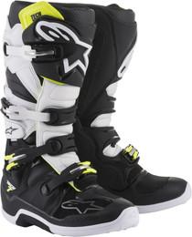 Alpinestars Tech 7 Boots Black White
