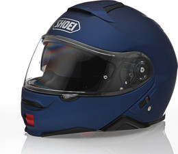 Shoei Neotec II Blue Metallic Helmet