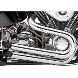 Supertrapp Road Legend Crakpipe Exhaust for HD FXST 90-06 Chrome