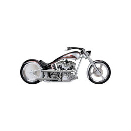 Supertrapp Road Legend X-Pipe Exhaust for HD DYNA 06-11 Silver 3SHLD