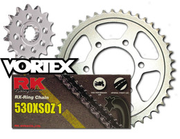 RK Vortex O-Ring Stl OE Chain and Sprocket Kit ZX900C 98-01 / E ZX-9R 98-01