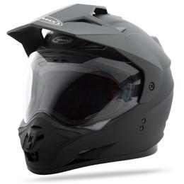 Gmax GM-11 Dual Sport Solid Helmet Matte Black