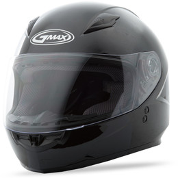 Gmax GM-49 Youth Full Face Solid Helmet Black