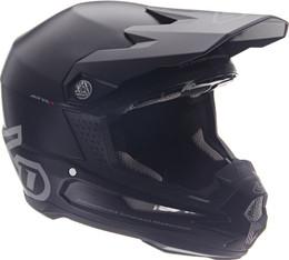 6D ATR-1 Solid Matte Black Helmet