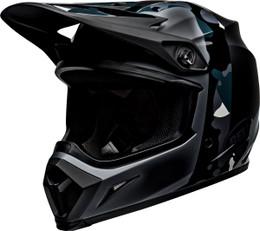 Bell MX-9 MIPS Presence Titanium Camo Helmet