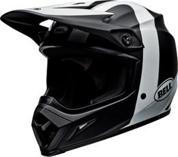 Bell MX-9 MIPS Presence Black White Helmet