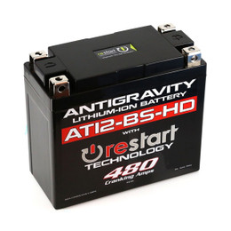Antigravity Re-Start Lithium Battery AT12-BS-HD 480CA 4 Terminal