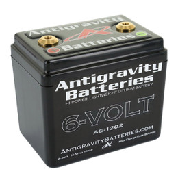 Antigravity 6-VOLT Lithium Battery AG-1202 240CA CTR Terminal