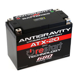 Antigravity Re-Start Lithium Battery ATX-20 680CA 4 Terminal