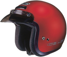 HJC CS-5N Solid Gloss Red Helmet