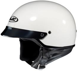 HJC CS-2N Solid Gloss White Helmet