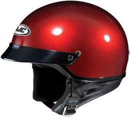 HJC CS-2N Solid Gloss Red Helmet