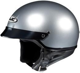 HJC CS-2N Solid Gloss Silver Helmet