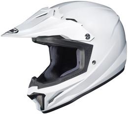 HJC CL-XY 2 Solid Gloss White Helmet