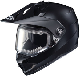 HJC DS-X1 Snow (Electric Shield) Solid Gloss Black Helmet