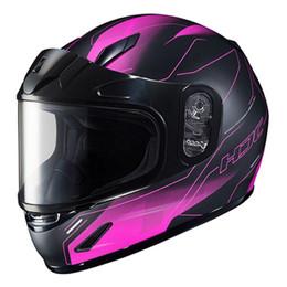 HJC CL-Y VELA Snow (Dual Lens) Matte Pink Youth Helmet