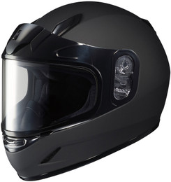 HJC CL-Y Snow (Dual Lens) Solid Matte Black Youth Helmet