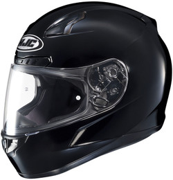 HJC CL-17 Solid Gloss Black Helmet