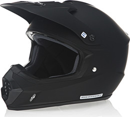 HJC CS-MX 2 Solid Matte Black Helmet