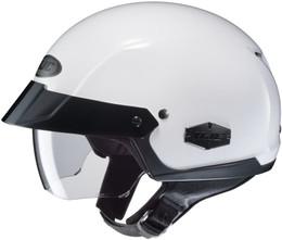 HJC IS-CRUISER Solid Gloss White Helmet